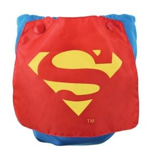 Bumkins One Size All in One Superman Cloth Diaper